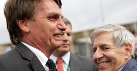 PRP barra indicação de general Augusto Heleno para vice na chapa de Bolsonaro