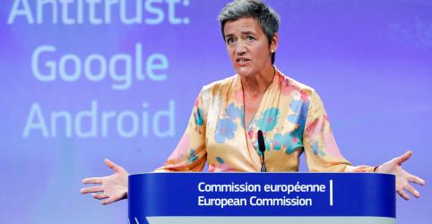 Placeholder - loading - Imagem da notícia UE multa Google em US$5 bilhões em processo antitruste