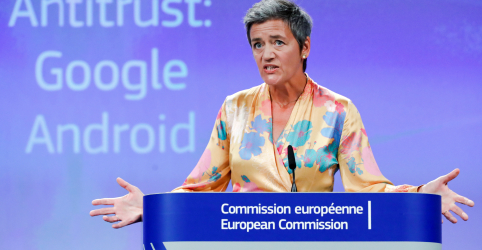 Placeholder - loading - UE multa Google em US$5 bilhões em processo antitruste