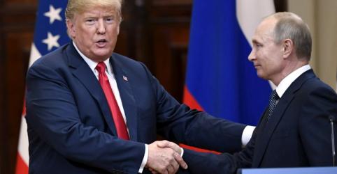 Trump convida Putin para visitar Washington após declarações causarem turbulência
