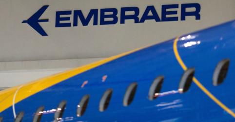 Embraer entrega 28 jatos comerciais e 20 executivos e encerra 2º tri com US$17,4 bi em pedios firmes