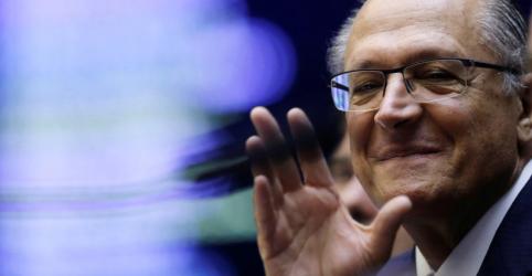Alckmin evita dar aliança com blocão como certa e diz que trabalha para efetivá-la