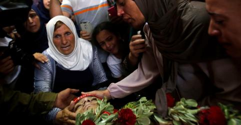 Forças israelenses matam adolescente palestino em operação na Cisjordânia, diz ministério palestino