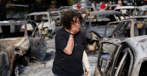 Número de mortos por incêndio florestal na Grécia sobe para ao menos 60