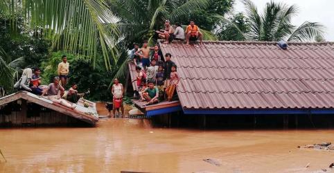 Placeholder - loading - Imagem da notícia Rompimento de represa no Laos deixa centenas de desaparecidos
