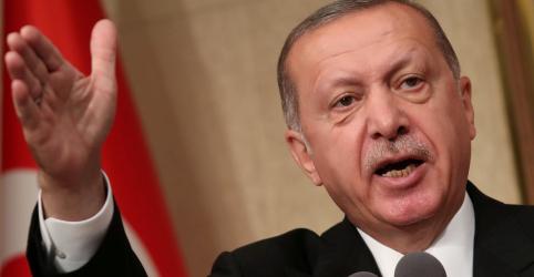 Placeholder - loading - Imagem da notícia Erdogan diz que nova lei de Israel é fascista e espírito de Hitler está ressurgindo