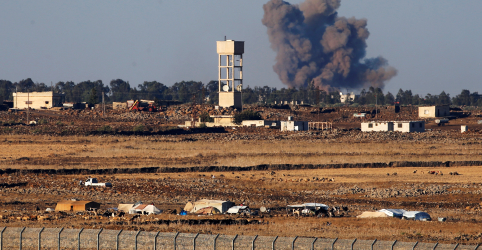 Israel 'intercepta' avião sírio e tensões aumentam na fronteira de Golã