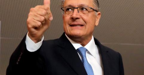 Alckmin diz que Josué Gomes é 'grande nome', mas definição de vice é 'uma construção' com aliados