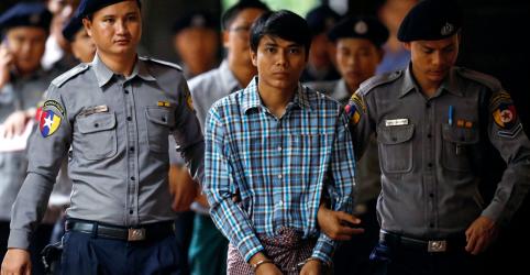 Placeholder - loading - Repórter da Reuters preso em Mianmar diz que foi privado de sono e forçado a passar horas ajoelhado