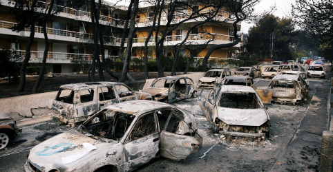 Placeholder - loading - Imagem da notícia Número de mortos por incêndio florestal na Grécia sobe para ao menos 74