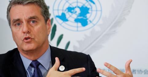 Placeholder - loading - Imagem da notícia Diretor-geral da OMC vê fim da guerra comercial a partir de negociações políticas