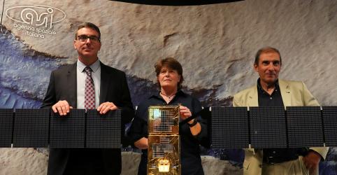 Lago subterrâneo é descoberto em Marte, aumentando a possibilidade de vida