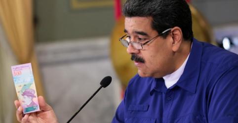 Venezuela vai remover cinco zeros de enfraquecida moeda