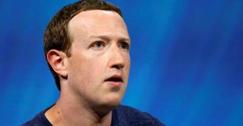 Placeholder - loading - Zuckerberg perde US$16 bi com queda recorde de ações do Facebook