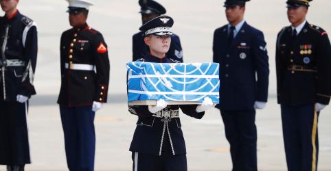 Placeholder - loading - Trump agradece Kim após Coreia do Norte transferir restos mortais de soldados dos EUA
