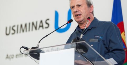 Placeholder - loading - Imagem da notícia Com minério de ferro a US$65, mineração é menos estratégica para Usiminas, diz presidente