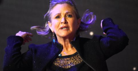 Placeholder - loading - Imagem da notícia Próximo filme de 'Star Wars' incluirá cenas de Carrie Fisher