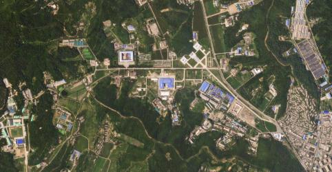 Placeholder - loading - Imagem da notícia EUA detectam nova atividade em instalação norte-coreana de míssil balístico