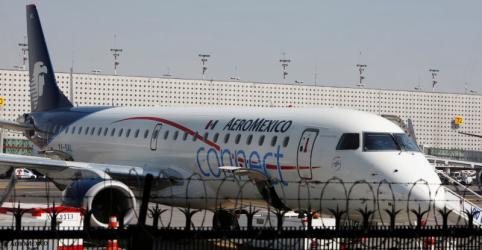 Embraer diz que vai ajudar nas investigações sobre a queda de avião no México