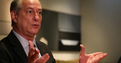 Ciro defende tributação sobre lucros e implantação de IVA em reforma tributária