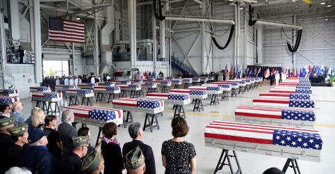 Trump agradece líder da Coreia do Norte por devolver restos mortais e diz que espera vê-lo 'em breve'