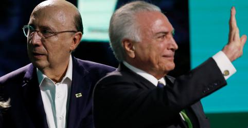 Placeholder - loading - Temer elogia Meirelles e diz que candidatos sem projeto são 'pobres coitados' e 'pigmeus políticos'