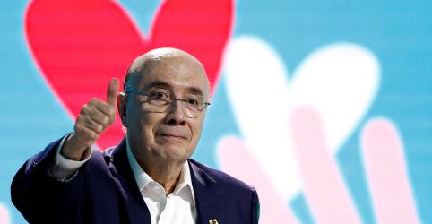 MDB oficializa candidatura de Meirelles à Presidência, vice deve ser definido até sábado