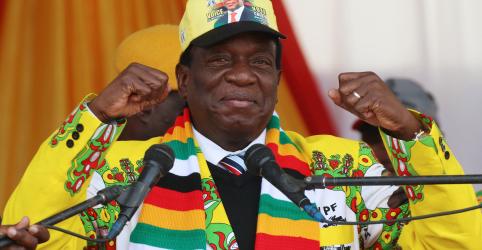 Placeholder - loading - Imagem da notícia Mnangagwa pede união no Zimbábue após vitória eleitoral e adversário questiona resultado