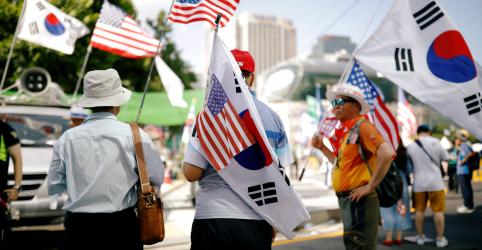Placeholder - loading - Coreia do Norte pede que EUA suspendam sanções; Seul investiga exportação ilegal de carvão