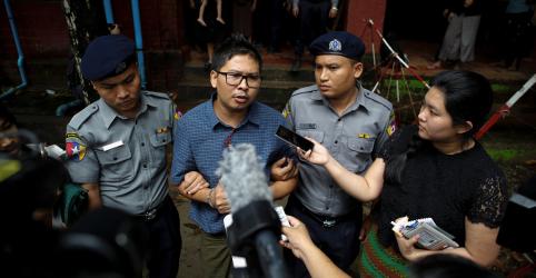 Placeholder - loading - Imagem da notícia Repórteres da Reuters 'revelam a verdade', diz ex-professor a tribunal de Mianmar