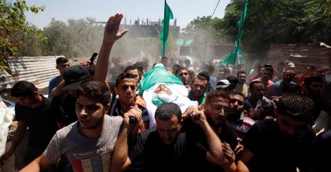 Hamas dispara foguetes e Israel bombardeia Gaza em meio a negociação de trégua