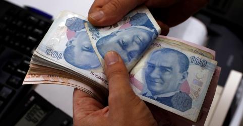 Placeholder - loading - Lira turca se recupera após bater nova mínima recorde frente ao dólar