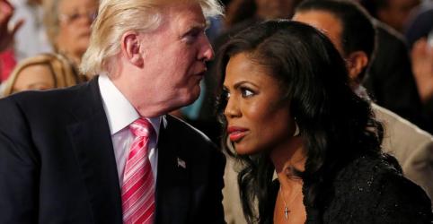 Placeholder - loading - Imagem da notícia Trump xinga ex-estrela de 'O Aprendiz' e ex-assessora da Casa Branca