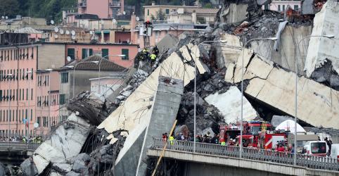 Itália busca sobreviventes após colapso de ponte que deixou ao menos 26 mortos