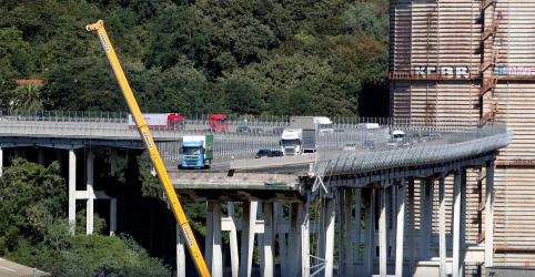 Placeholder - loading - Imagem da notícia Equipes de resgate procuram sobreviventes de desabamento de ponte italiana que matou 37 pessoas