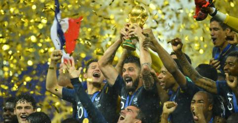 França lidera novo ranking daFifa; Brasil é 3º e Alemanha cai para 15º