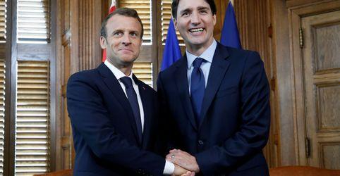 Líderes do G7 precisam ser civilizados quando pressionarem Trump, diz Macron