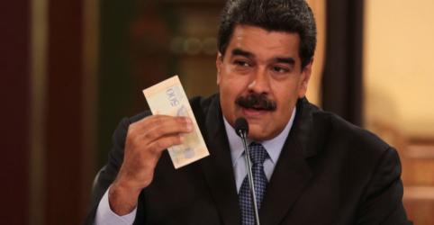 Placeholder - loading - Maduro diz que novo salário mínimo da Venezuela entrará em vigor em setembro