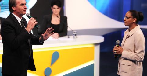 Placeholder - loading - Bolsonaro lidera com 22% contra 16% de Marina em cenário sem Lula, diz Datafolha