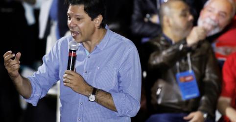 Placeholder - loading - PT lança vídeo de campanha com Lula e dá destaque a Haddad como vice