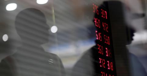 Dólar tem 6ª alta e vai a R$4,05 com preocupação eleitoral