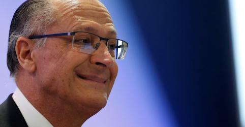 Placeholder - loading - Imagem da notícia Todo mundo quer Bolsonaro no 2º turno porque ele 'perde para qualquer um', diz Alckmin