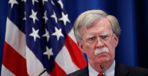 Bolton diz que advertiu Rússia contra interferência nas eleições deste ano nos EUA