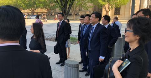 Placeholder - loading - Conversas comerciais entre EUA e China terminam sem avanços e tarifas entram em vigor