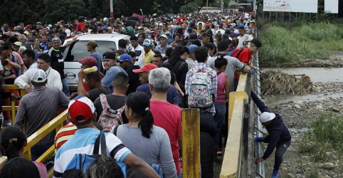 Placeholder - loading - Êxodo de venezuelanos se aproxima de momento de crise, diz agência da ONU