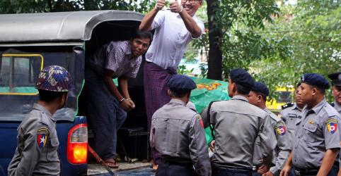 Veredicto de repórteres da Reuters é adiado à medida que pressão aumenta sobre Mianmar