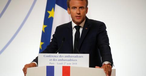 Macron diz que Brexit não pode dividir UE e critica isolacionismo de Trump