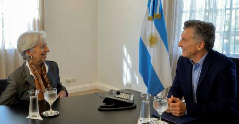 FMI vai trabalhar com Argentina para fortalecer programa de financiamento, diz Lagarde