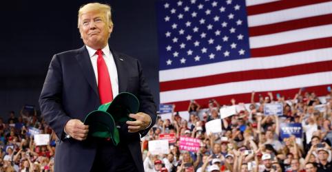 Trump promete combater 'censura' a conservadores por empresas de redes sociais