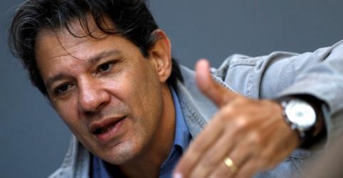 ENTREVISTA-Haddad diz que plano econômico para governo do PT é dele e de Lula